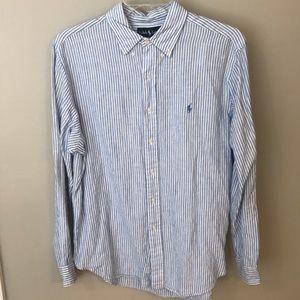 Ralph Lauren linen Button Up
